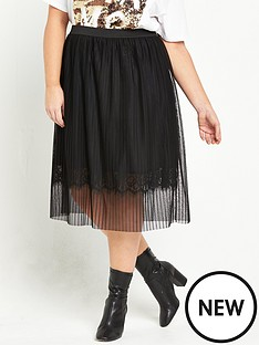 river-island-tulle-and-lace-midi-skirt-black