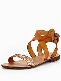 dune-littasnbspglitter-flat-sandal-tan