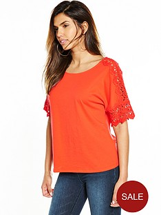 v-by-very-crochet-sleeve-top