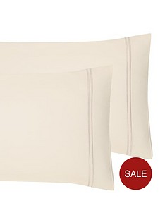 hotel-collection-luxury-400-thread-count-stitch-border-soft-touch-sateen-standard-pillowcases-pair