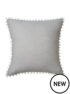 hotel-collection-tia-pompom-filled-cushion