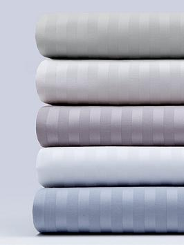 hotel-collection-luxury-300-thread-count-soft-touch-sateen-stripe-flat-sheet