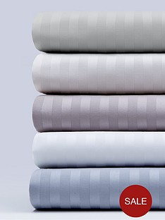 hotel-collection-luxury-300-thread-count-soft-touch-sateen-stripe-flat-sheetnbsp