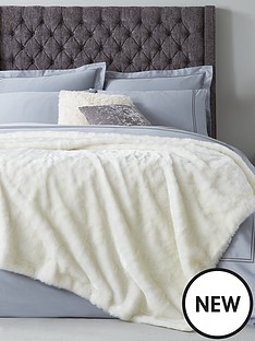 hotel-collection-luxury-faux-fur-bedspread-throw-140x200