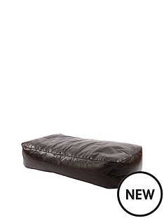 kaikoo-large-faux-leather-lounger