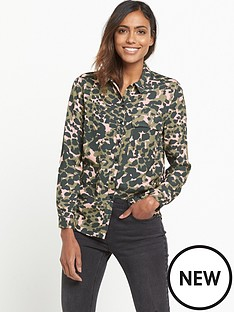 miss-selfridge-camo-pocket-shirt