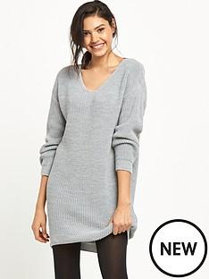 miss-selfridge-lattice-back-dress
