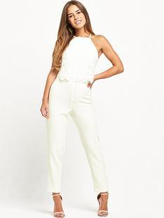 miss-selfridge-petite-lace-overlay-jumpsuit-ivory