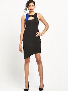 miss-selfridge-colourblock-curve-dress