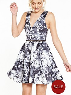 miss-selfridge-photographic-print-prom-dress