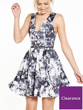 miss-selfridge-photographic-print-prom-dress