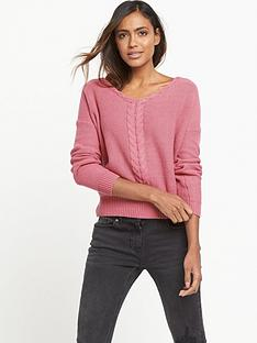 miss-selfridge-cable-detail-lattice-jumper