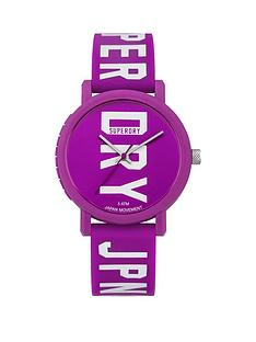 superdry-superdry-campus-block-purple-dial-purple-logo-printed-silicone-strap-watch