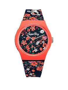 superdry-superdry-urban-ditsy-navy-floral-printed-dial-navy-floral-printed-silicone-strap-ladies-watch