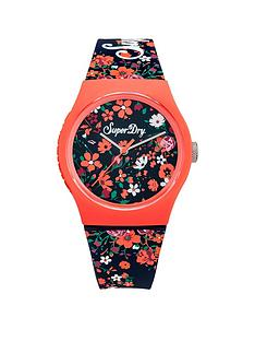 superdry-superdry-urban-ditsy-white-floral-printed-dial-white-floral-printed-silicone-strap-ladies-watch