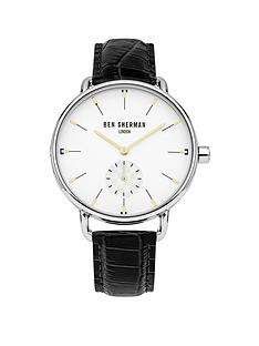 ben-sherman-white-dial-sub-second-dial-black-croc-leather-strap-mens-watch