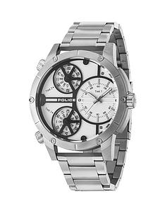 police-rattlesnake-white-multidial-stainless-steel-bracelet-mens-watch
