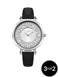 lipsy-lipsy-silver-white-sunray-dial-stone-set-bezel-black-pu-strap-ladies-watch