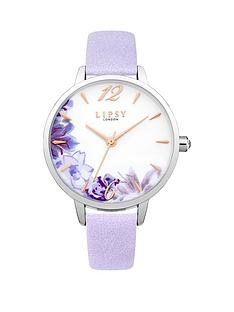 lipsy-floral-photo-print-dial-lilac-pu-strap-ladies-watch