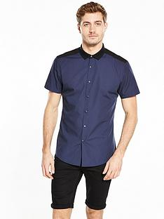 v-by-very-contrast-rib-collar-shirt