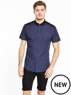 v-by-very-contrast-rib-collar-shirt