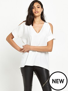 river-island-river-island-short-sleeve-cold-shoulder-top