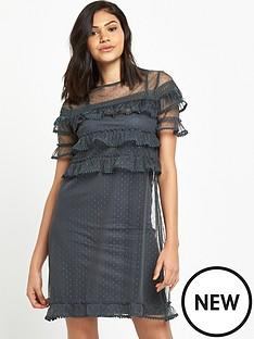 river-island-dobby-mesh-dress