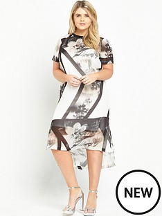ri-plus-floral-t-shirt-dress-white