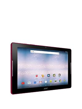 Acer Iconia One 10 (B3A30) Quad Core Processor 1Gb Ram 16Gb Storage Android 6.0 10.1 Inch Hd Ips Tablet  Red