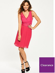 myleene-klass-v-front-pleat-skirt-dress