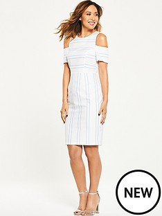 myleene-klass-cold-shoulder-pencil-dress