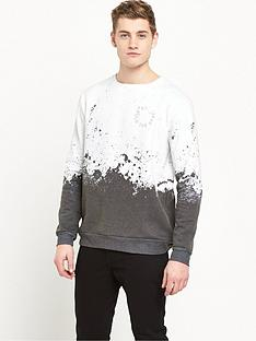 river-island-faded-splatter-print-sweat