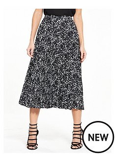 v-by-very-mono-print-pleat-skirt