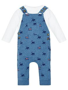 monsoon-monty-baby-boys-monkey-dungaree-set