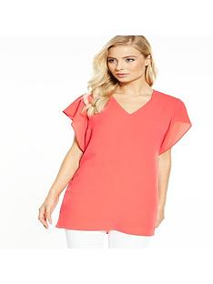 v-by-very-ruffle-sleeve-v-neck-tunic