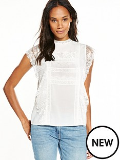 v-by-very-lace-frill-high-neck-top-ivory
