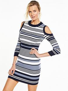 v-by-very-cold-shoulder-stripe-dress