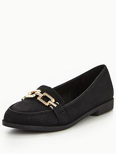 v-by-very-mandy-gold-trim-loafer