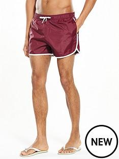 river-island-side-stripe-print-swim-shorts