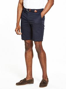 river-island-slim-fit-belted-shorts