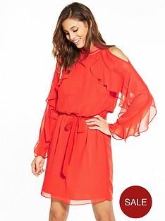 v-by-very-ruffle-sleeve-dress