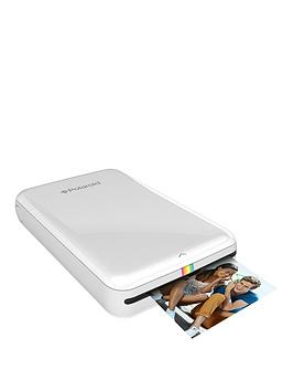 polaroid-zip-instant-printer-with-optional-50-pack-ofnbsp2-x-3-inch-premium-zink-paper-white