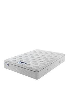 Silentnight  Miracoil Sprung Tuscany Geltex Pillowtop Mattress - Medium/Firm