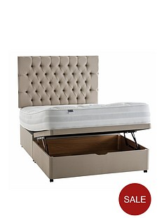 silentnight-mirapocketnbsppaige-1400-orthonbsplift-up-storage-divan-bed-with-half-price-headboard-offer-buy-and-save