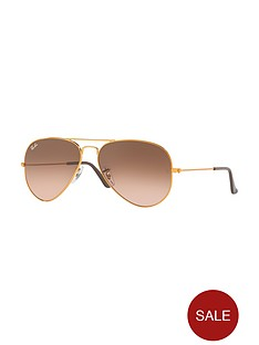 ray-ban-gradient-lensnbspaviator-sunglasses-copper