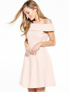 vila-atlas-bardot-dress-silver-peony
