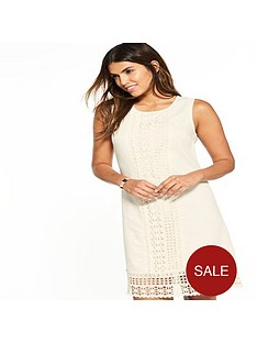v-by-very-lace-linen-shift-dress