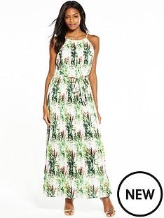 v-by-very-pleated-print-maxi-dress
