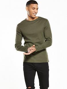 river-island-long-sleeve-slim-fit-rib-tshirt