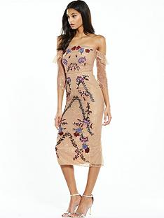 hope-ivy-off-the-shoulder-embroidered-dress-nude